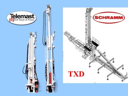 "Xxxxxxxxxx TXD. TXD Design Goals Alternative to a ""Big-Rig"" Shallow oil/gas and CBM applications Handle range 3 casing Quick and easy set-up and breakdown."