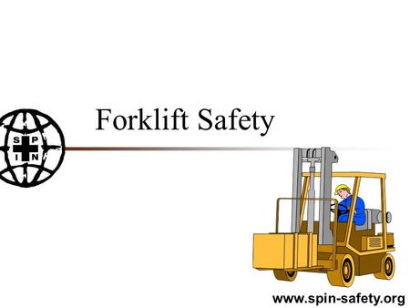 Forklift Safety.