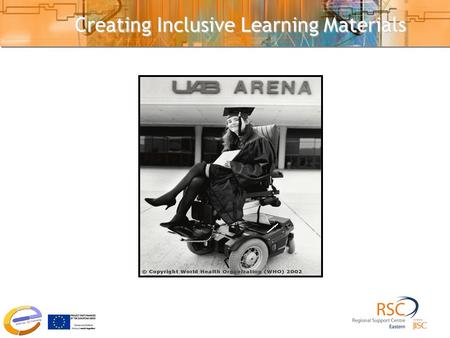 Creating Inclusive Learning Materials. Outline 1.Highlight main barriers to learning 2.Listen to student perspectives on accessible learning 3.Focus on.