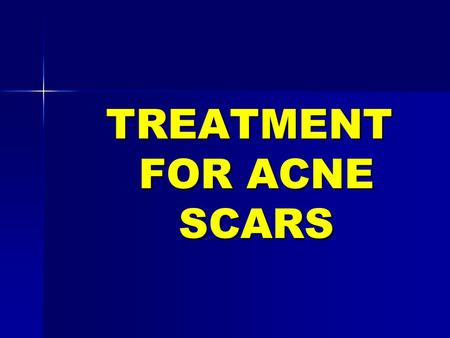 TREATMENT FOR ACNE SCARS. Why do pimples cause scar? Pimples cause scars due to damage to the skin, which occurs when treatment is not taken early and.
