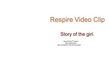 Respire Video Clip Story of the girl.. The girl is running in the prairie.