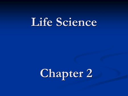 Chapter 2 Life Science. Plant Cell Plants are autotrophs – they make their own food. Plants are autotrophs – they make their own food. They use the process.
