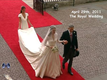 April 29th, 2011 The Royal Wedding and….. many, many hats !!!!  Kate Middleton and Prince William.