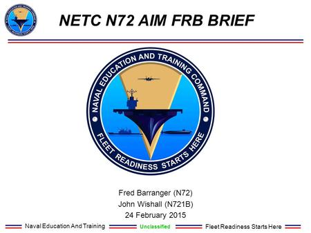 Fred Barranger (N72) John Wishall (N721B) 24 February 2015