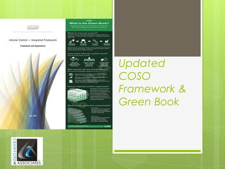Updated COSO Framework & Green Book