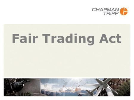 Fair Trading Act 930633. Fair Trading Act 2 Overview General framework Green marketing Carbon claims Comparative advertising Dealing with the Commission.