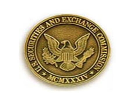 In Conclusion U.S. Securities & Exchange Commission Division of Enforcement The U.S. Securities and Exchange Commission, as a matter of policy, disclaims.