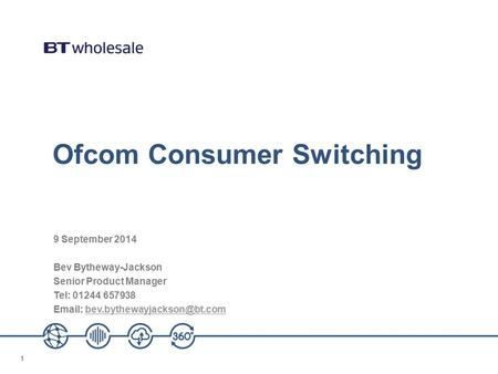 Ofcom Consumer Switching