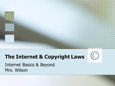 Where do copyright laws apply?