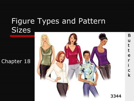 Figure Types and Pattern Sizes