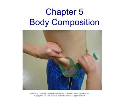 Chapter 5 Body Composition