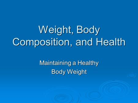 health and body essay The mind-body connection is no longer up for debate a happier you is a healthier you learn how to beat stress, depression, anxiety, and more using these natural remedies, tips, and expert advice.