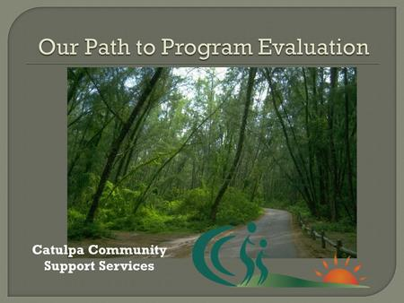 Catulpa Community Support Services.  Use of an electronic data entry program to record demographic data and case notes to reflect service delivery 