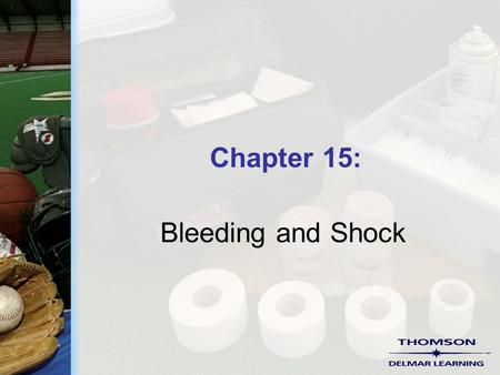 Chapter 15: Bleeding and Shock. Copyright ©2004 by Thomson Delmar Learning. ALL RIGHTS RESERVED. 2 Pulse Points  Locations on the body surface where.