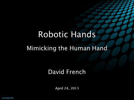 Robotics parts in bangalore dating 4