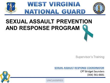 SEXUAL ASSAULT PREVENTION AND RESPONSE PROGRAM