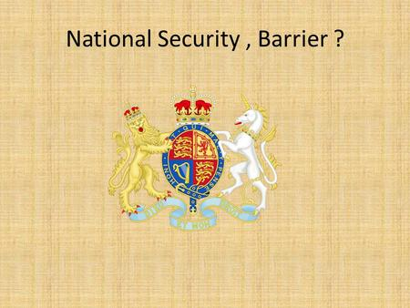 National Security, Barrier ?. Recently.. Human rights violations and women Among the dilemmas the British public is facing, poverty that's internationally.