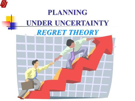 PLANNING UNDER UNCERTAINTY REGRET THEORY.