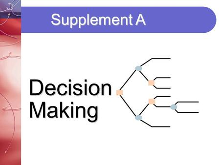Supplement A Decision Making.
