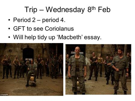"merchant of venice"" essay plan character ppt video online  trip wednesday 8 th feb period 2 period 4 gft to see coriolanus"