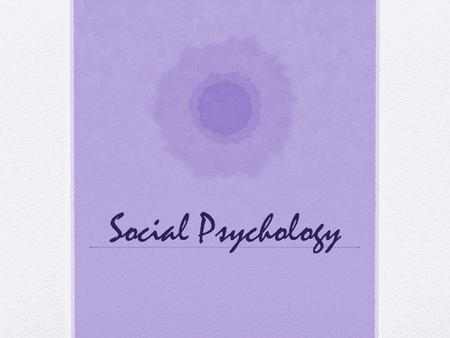 the concept of prejudice in the introduction to psychology by james w kalat Introduction to social psychology everybody has heard of peer pressure, but most people argue that they are not affected by it, or at least not affected as 'most people.