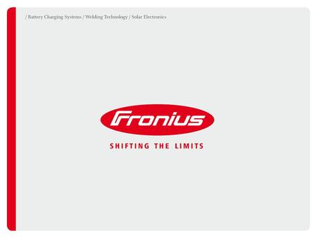 VIRTUAL WELDING Fronius International GmbH Welding Technology division Froniusplatz 1 4600 Wels, Austria.