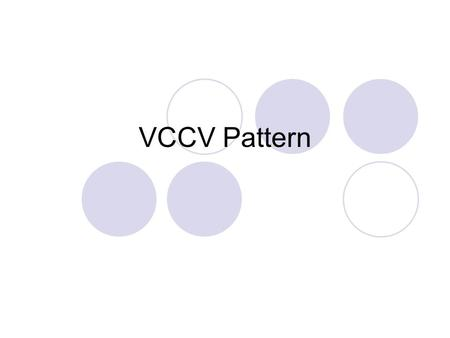VCCV Pattern. funny How many syllables do you hear? fun / nytwo Notice that each syllable has one vowel sound.