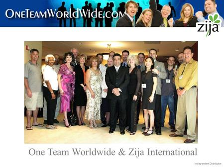 One Team Worldwide & Zija International