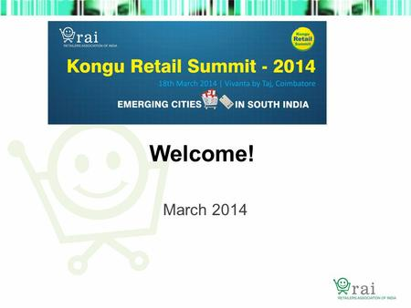 Welcome! March 2014. Consumers are increasingly saying that the Future is about ME Serve me Listen to me Know me Empower me.