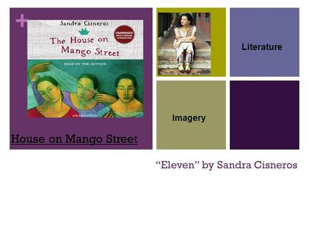 "+ ""Eleven"" by Sandra Cisneros House on Mango Street Literature Imagery."