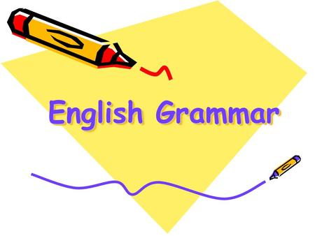 English Grammar.