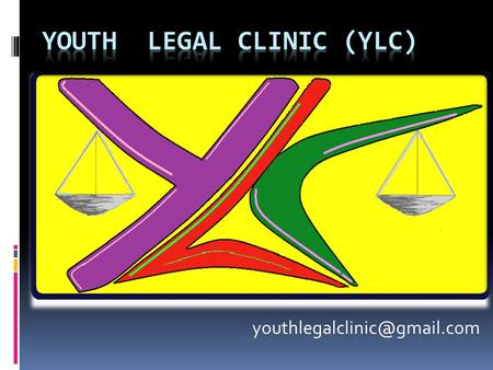 Youth legal Clinic (YLC)