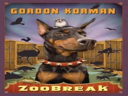 Zoobreak By Gordon Korman pg: 230
