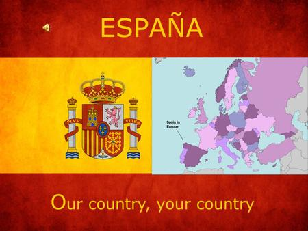 ESPAÑA O ur country, your country. T he Climate Very varied: · In the north: Wet, rainy and cold. · In the central: Dry and warm. · In the south and east: