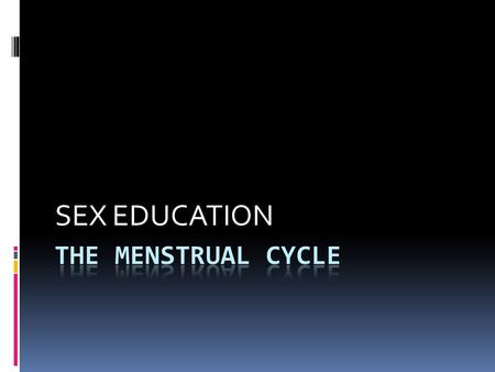 SEX EDUCATION. Days 1-5: Bleeding / Tissue leaves the body Days 6-10ish: Lining builds to prepare for implantation Days 11-15ish: Fertile time-egg can.