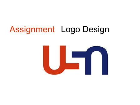 Logo Design Assignment.