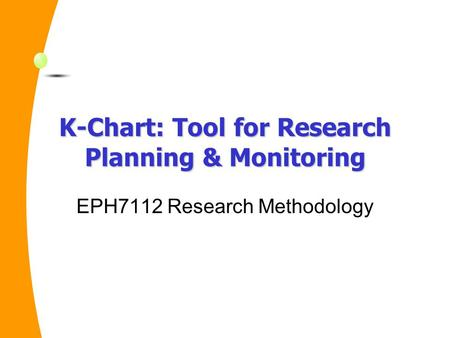 Research methodology tools