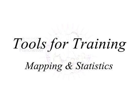 Tools for Training Mapping & Statistics. Overview Deanery Information Folders –to resource initial planning Additional Support –to resource advanced planning.