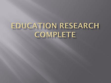  ERC is a database that contains a huge collection of education journal articles.  Full text journal articles covering all grade levels and many educational.