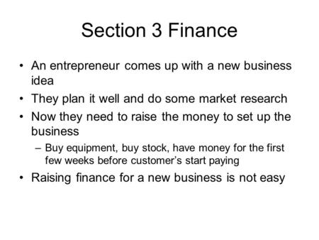 do entrepreneurs need a business plan The 11 slides you need to have in  try building a one-page business plan here's how to do  tips and advice for entrepreneurs and business owners looking to.
