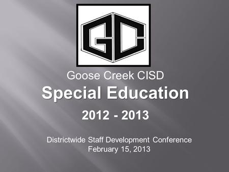 Districtwide Staff Development Conference