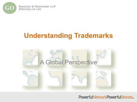 Understanding Trademarks A Global Perspective. Types of Intellectual Property Copyright Patent Trademark Service Mark Trade Name Trade Dress Trade Secret.
