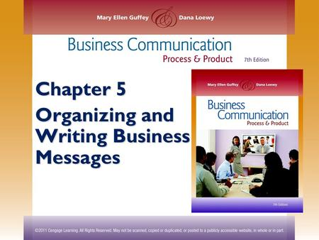 Aspects of organizing a business essay