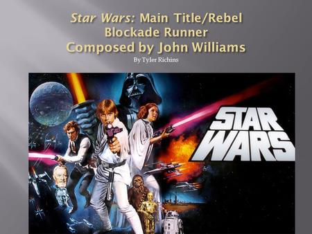 By Tyler Richins.  John Williams was born on February 8, 1932. He is one of the most successful film composers of all time.  He has composed film scores.