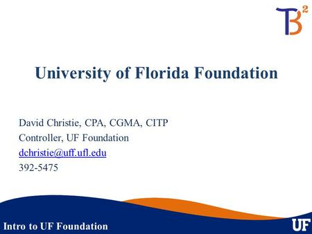 University of Florida Foundation