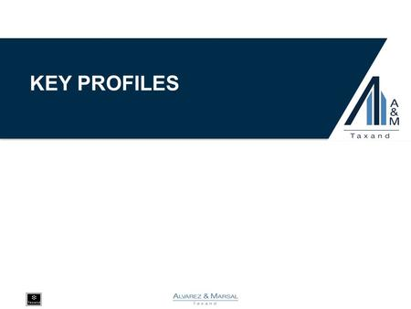 KEY PROFILES. NOTE: Alvarez & Marsal employs CPAs but is not a licensed CPA firm. A&M TAXAND PROFESSIONALS ●Marc Alms is a Managing Director with Alvarez.