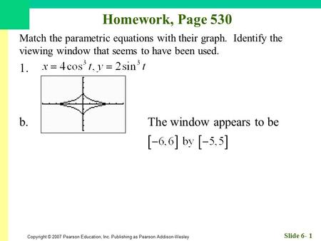 Homework, Page b. The window appears to be