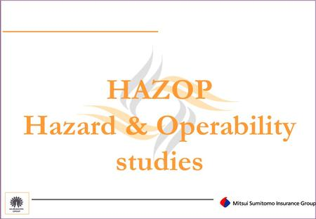 HAZOP Hazard & Operability studies What is HAZOP? (Hazard & Operability) A systematic review of the design & operation of a system to identify the potential.