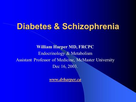 Ada hyperglycemic crises 2009
