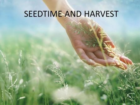 SEEDTIME AND HARVEST. b Jesus, there is something about that name Jesus, Jesus, Jesus there is something about that name, master,saviour, Jesus like the.